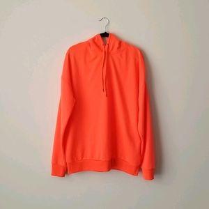 Simons Le 31 Oversized Neon Orange Hoodie